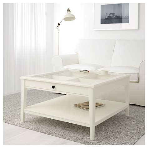 ikea white coffee table liatorp coffee table white glass 93x93 cm ikea