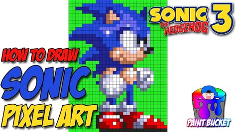 How To Draw Sonic The Hedgehog 3