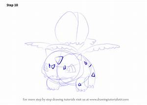 Step by Step How to Draw Ivysaur from Pokemon GO ...