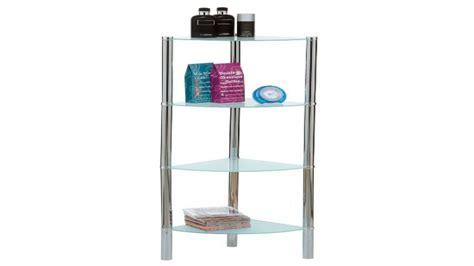 corner shelves unit bathroom glass corner shelf