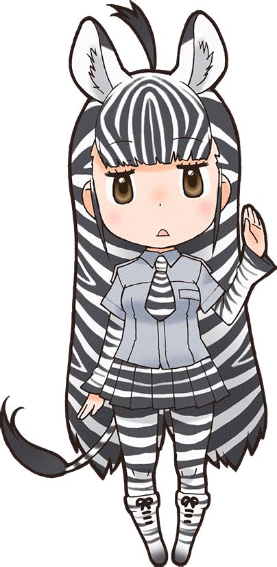 plains zebra japari library  kemono friends wiki