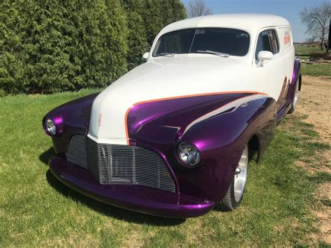 restomod  chevrolet sedan delivery custom  sale