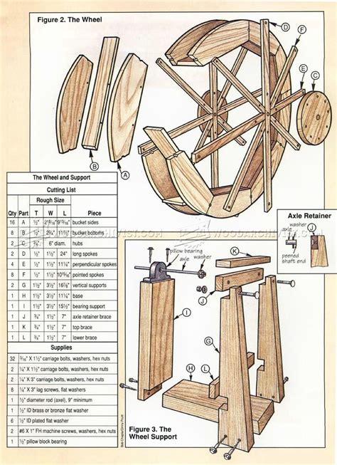 millwheel outdoor plans plans