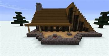 Living Room Layout With Fireplace by Winter Cabin Minecraft Project