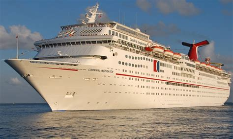 Carnival Inspiration - Itinerary Schedule Current Position | CruiseMapper
