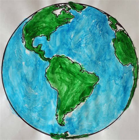 childrens learning activities earth day painting