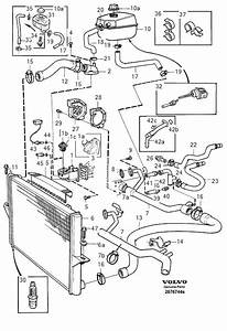 1998 Volvo V70 Engine Diagram