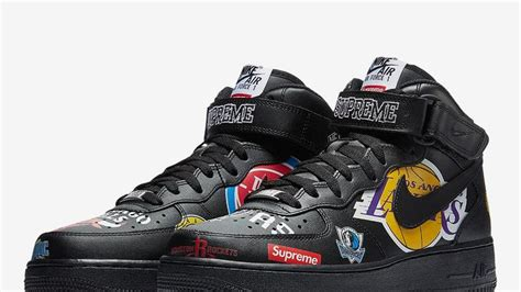 supreme  nba  nike air force  official images revealed