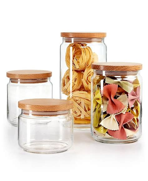 martha stewart kitchen canisters martha stewart collection 4 pc canister set created for