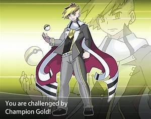 Pokemon Champion Gold Sheildheart by OkiOppai on DeviantArt