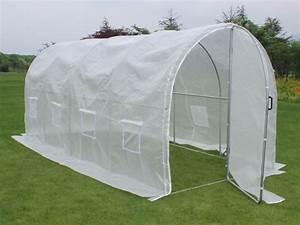 Serre Tunnel De Jardin : serre tunnel de jardin avec porte mimosa 220g m2 67252 67276 ~ Melissatoandfro.com Idées de Décoration