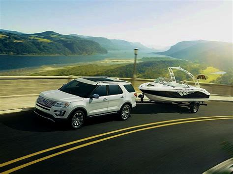 2016 Ford Explorer Sport Towing Capacity