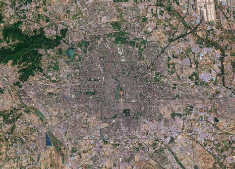 Earth From Space Beijing China Spaceref