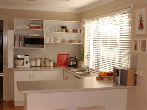 Building Small Open Kitchen Without Divider Home