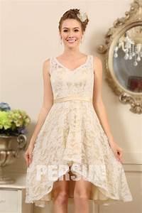 Robe Mariage Dentelle : robe courte pour soir e de mariage en dentelle ~ Mglfilm.com Idées de Décoration