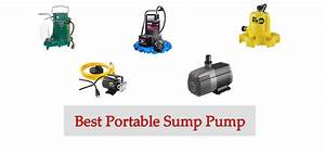 10 Best Portable Sump Pumps In 2020