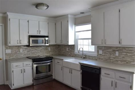 Old Cabinets With New Countertops