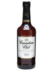 christmas basket canadian club the whisky exchange
