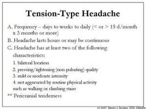 Tension-Type Headache Tension-Type Headache