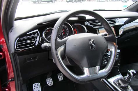 citroen ds3 thp sport chic interieur