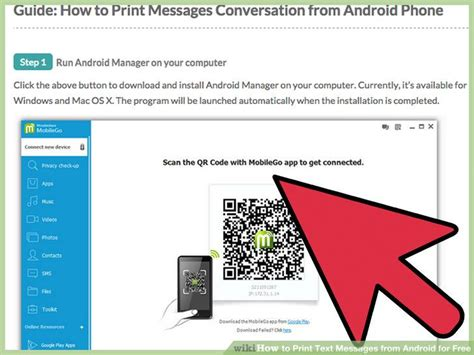 print text messages android how to print text messages from android for free with