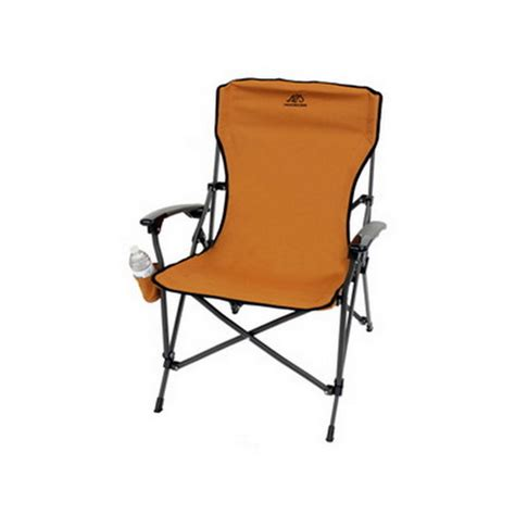 Alps Mountaineering Leisure Folding C Chair by Alps Mountaineering 8151005 Leisure Chair Rust 703438815054