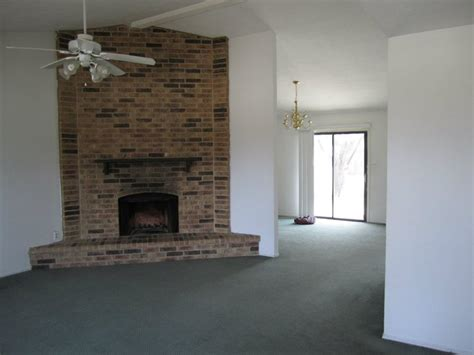 remove smoke stains   brick fireplace surround