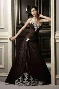 colored wedding gown weddingelation - Wedding Dresses In Color