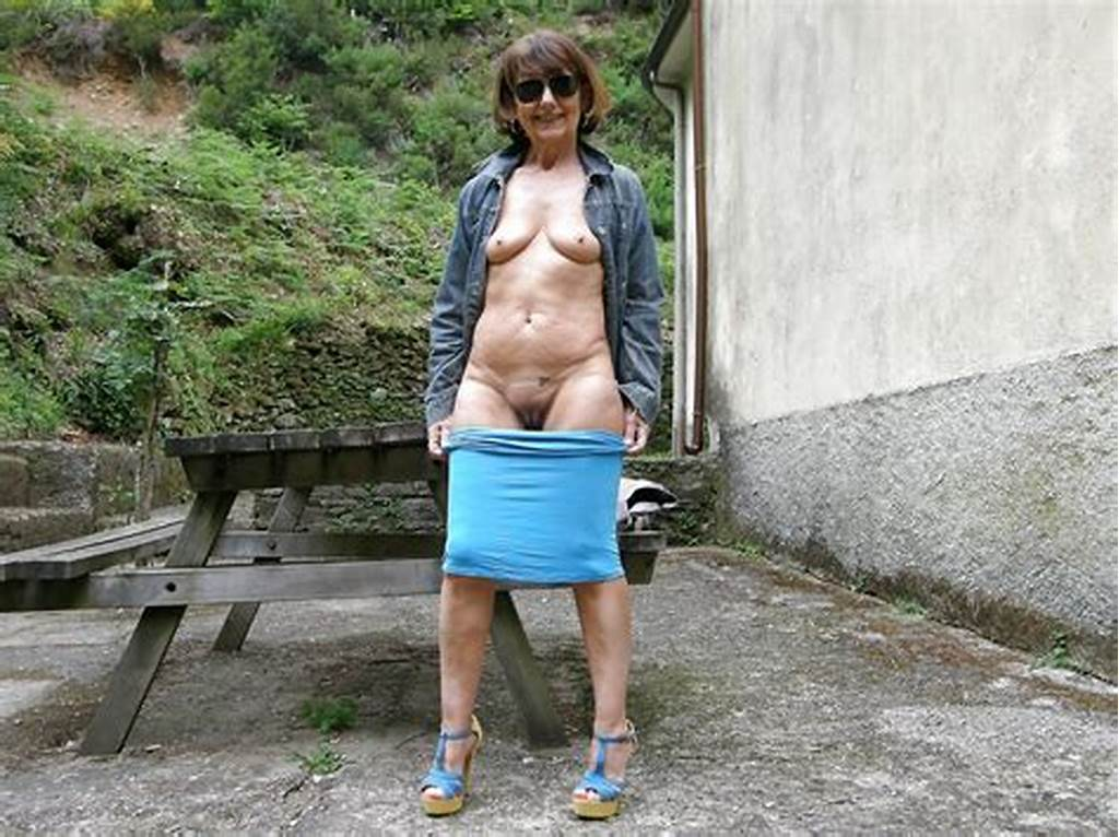 #Nice #Granny #Nude #In #Forest