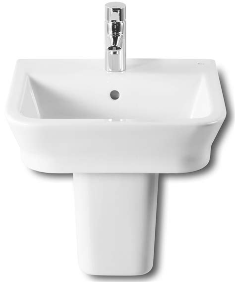 roca kitchen sinks roca the gap 450 x 420mm wall hung basin with no tap 1973