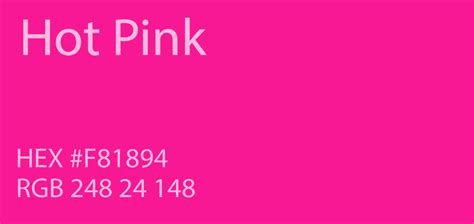 24 shades of pink color palette graf1x
