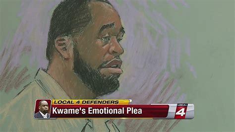 kwame kilpatrick moves  oklahoma prison