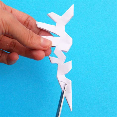 paper snowflake craft    sided kids crafts