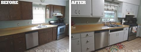 painting laminate kitchen cabinets how to paint laminate cabinets before after white knight