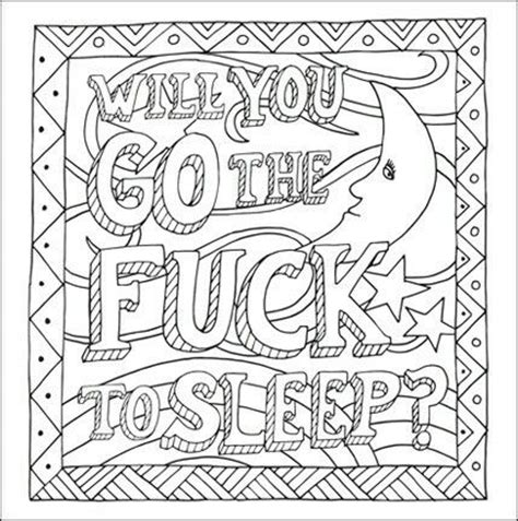 Swear Word Coloring Pages 18awesome Free Printable Coloring Pages For Adults Only