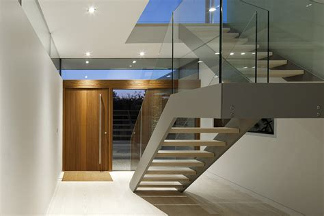 Exterior Staircase Design Ideas by Entrance Stairs Hurst House Buckinghamshire By John