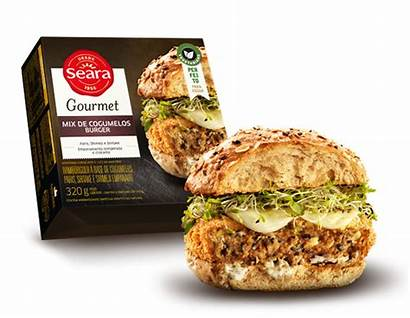 Seara Hamburguer Mix Gourmet Cogumelo 320g Grs