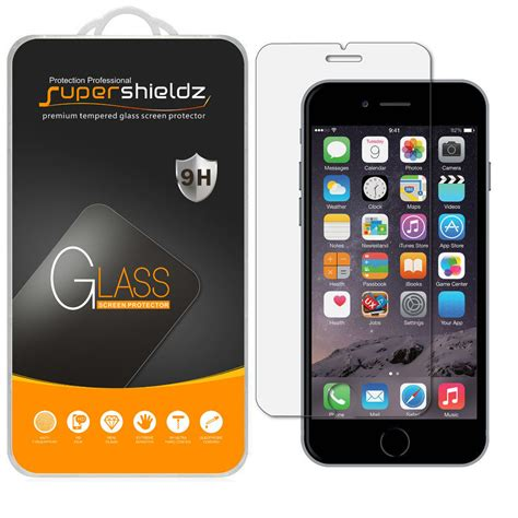 glass iphone screen protector supershieldz ballistic tempered glass screen protector Glass