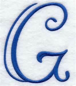 Fancy Capital Letter G