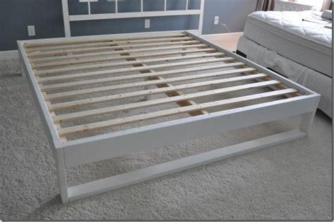 Simple Bedframe Tutorial In 2018