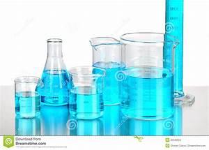 Laboratory Beakers Stock Images - Image: 20340054