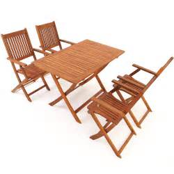 wooden garden table chairs set sydney acacia wood