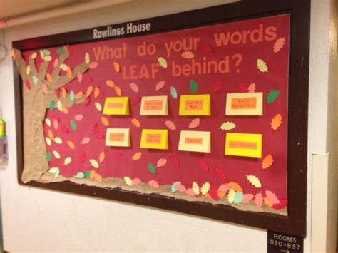 Inclusive Language Bulletin Board Made By An Ra