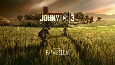 john wick chapter  parabellum poster   rainbow