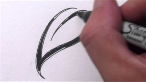 draw  simple leaf tribal tattoo design style youtube