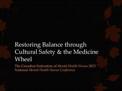 Restoring Balance Through Cultural Safety & The Medicine Wheel