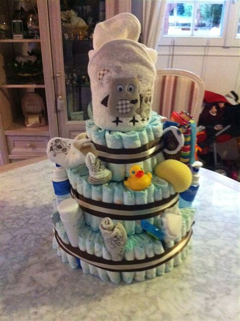 gateau de couche mixte ideesshower pinterest