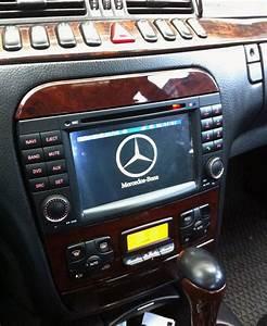Navi Update Mercedes : mercedes benz cl w215 s w220 aftermarket gps navigation ~ Jslefanu.com Haus und Dekorationen