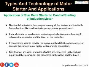 Motor Startertypes And Technology Of Motor Starter And Its
