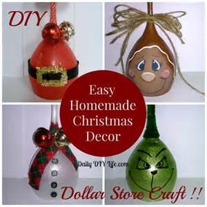 easy handmade christmas decor diy dollar store craft